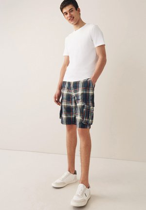 LAUNDERED CHECK - Shorts - multi coloured