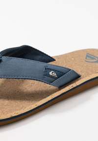 Quiksilver - MOLO ABYSS - T-bar sandals - blue/brown - 5