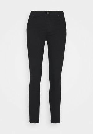 ONLIRIS MID SKINNY ANK PUSHUP BB MA - Jeans Skinny Fit - black