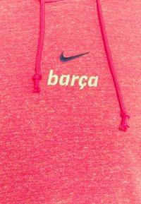 Nike Performance - FC BARCELONA GYM HOODIE - Club wear - fusion red/deep royal blue - 5