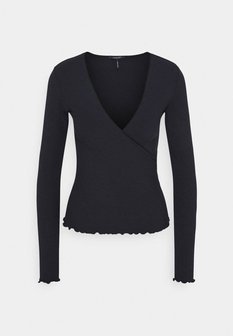 Scotch & Soda - WRAP OVER - Long sleeved top - night