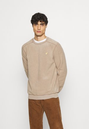 Fleece trui - sand