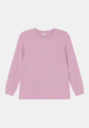 SUNDAY - Topper langermet - lilac chiffon