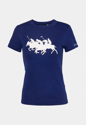 TEE SHORT SLEEVE - T-shirts print - fall royal
