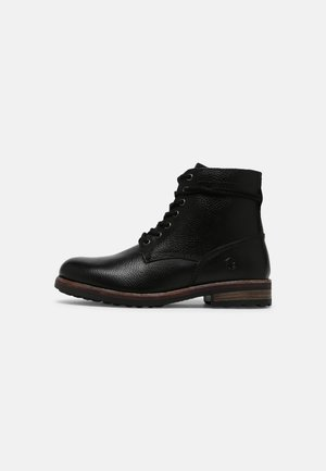 OWEN - Lace-up ankle boots - black