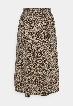 PCGILBERTA MIDI SKIRT - A-line skirt - black