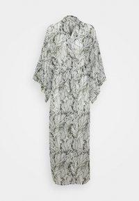 Hunkemöller - KIMONO LONG LEAF - Dressing gown - climbing ivy - 0