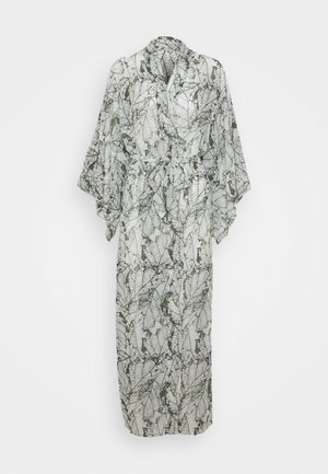 KIMONO LONG LEAF - Dressing gown - climbing ivy