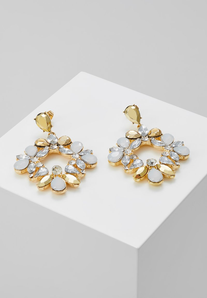 Pieces - PCPEARLI EARRINGS - Earrings - gold-coloured/multi