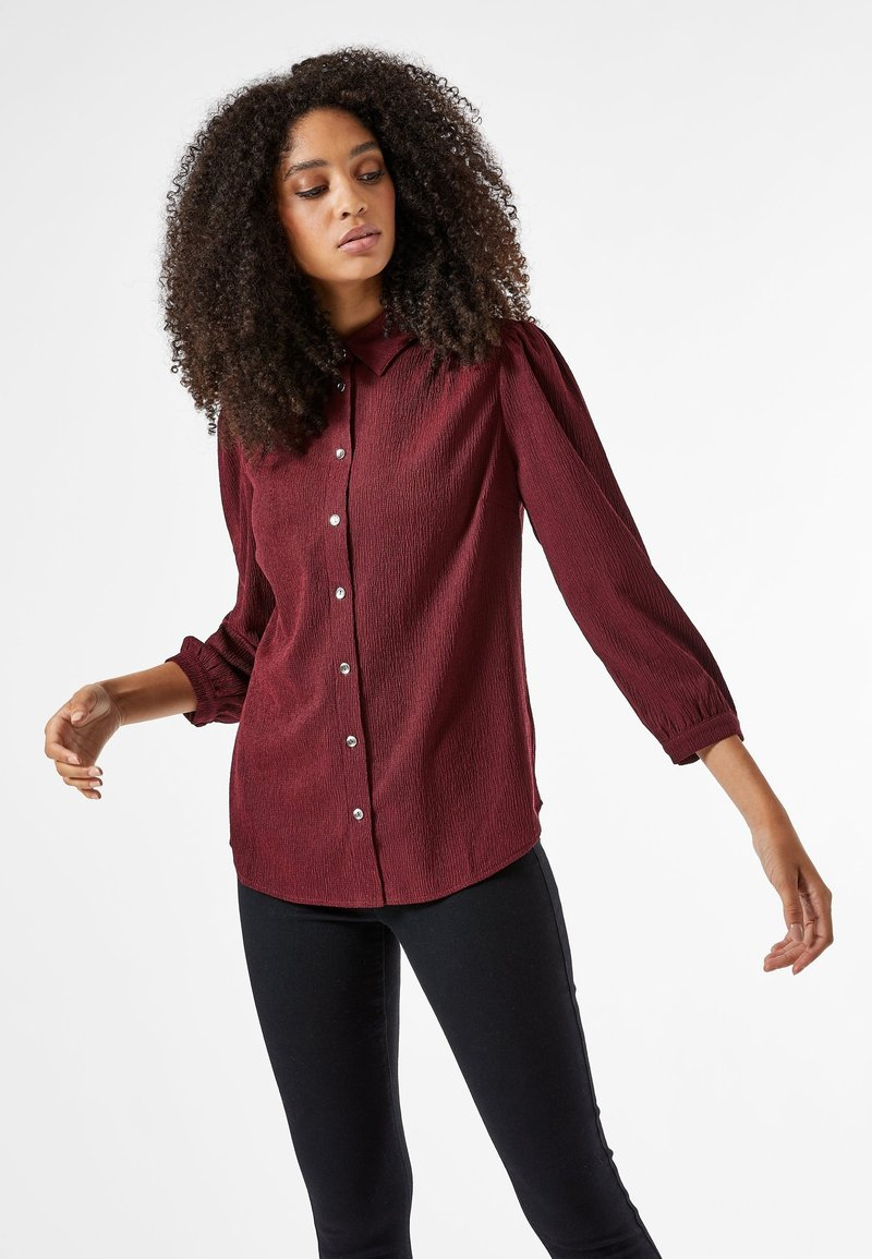 Dorothy Perkins - Button-down blouse - red