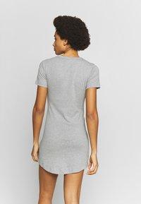 Champion - DRESS - Sportklänning - grey melange - 2