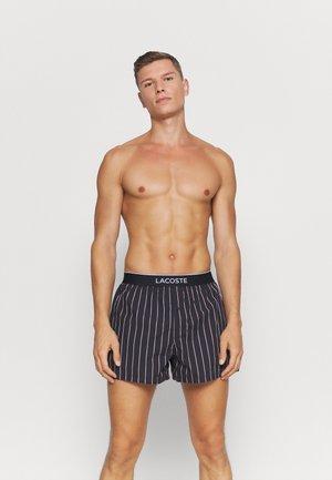 3 Pack - Boxer shorts - marine/alizarine-tropical-blanc