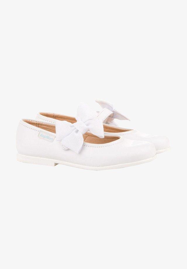 Zapatos de bebé - blanco