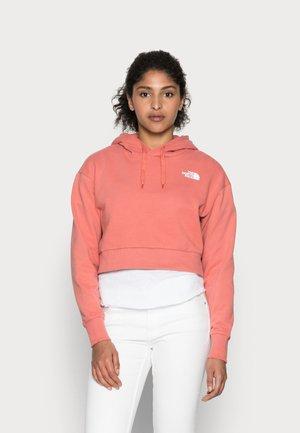TREND CROP HOODIE  - Sweatshirt - faded rose
