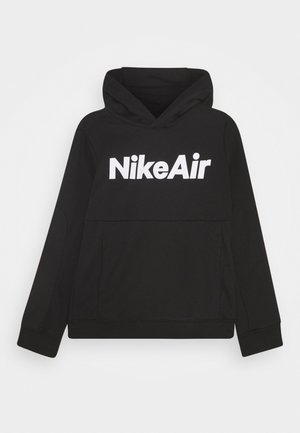 AIR HOODIE UNISEX - Mikina s kapucí - black/white