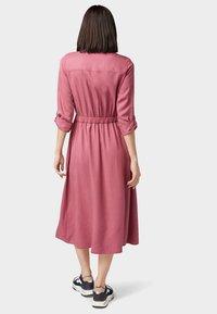 TOM TAILOR DENIM - Shirt dress - dry rose - 2