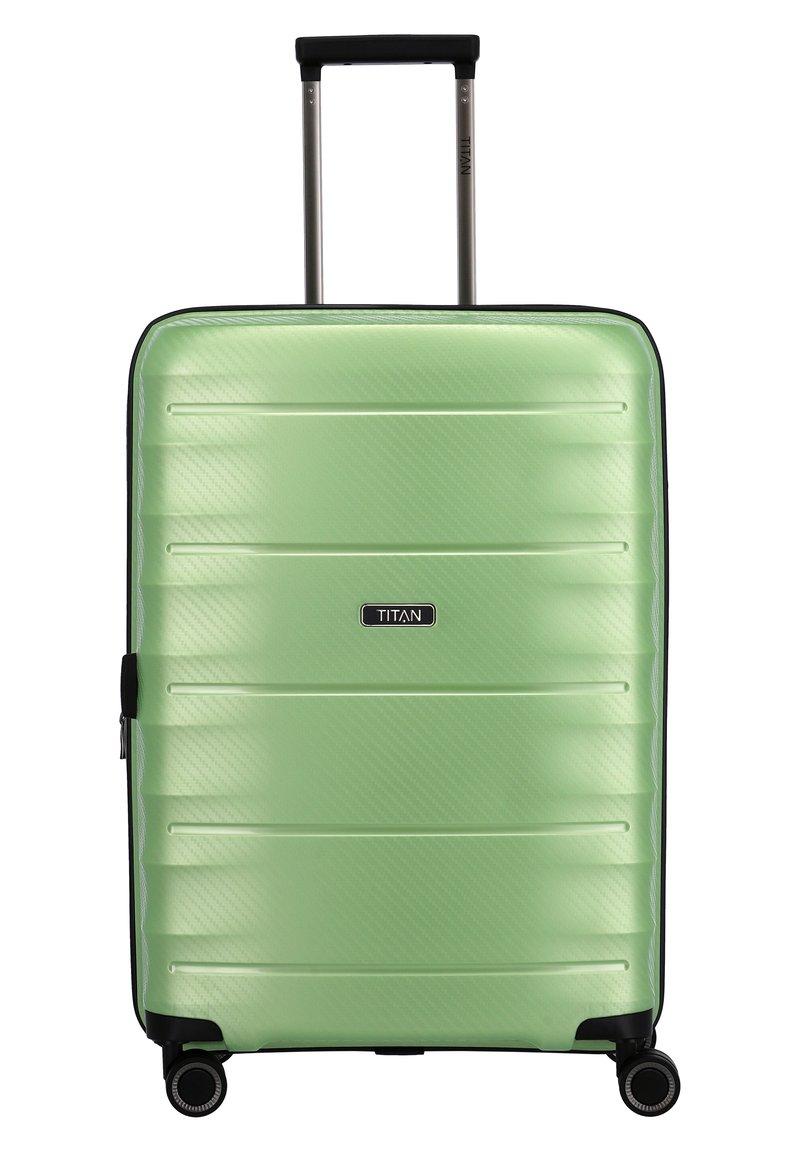 Titan - HIGHLIGHT - Wheeled suitcase - green metallic
