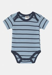 Jacky Baby - KURZARM BOYS 3 PACK - Body - blue/white - 2