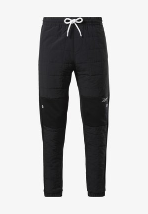 MYT QUILTED JOGGERS - Spodnie treningowe - black