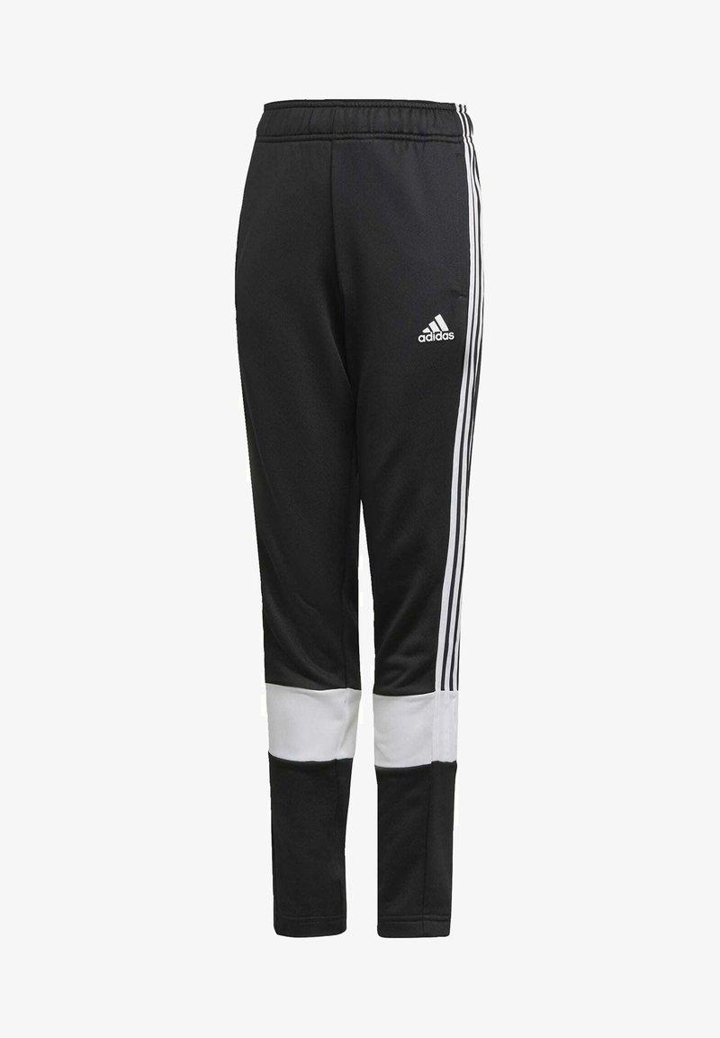 adidas Performance - STRIPES AEROREADY PRIMEBLUE JOGGERS - Verryttelyhousut - black