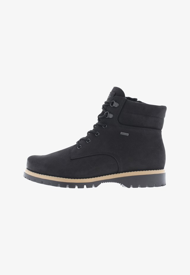 LAAVU - LACE-UP ANKLE BOOTS - Veterboots - black