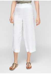 s.Oliver - Trousers - white - 1