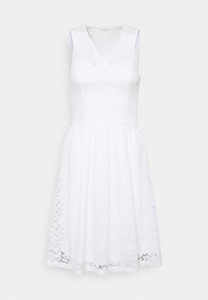 ONLNEW ALBA SMOCK MIX DRESS - Cocktail dress / Party dress - bright white