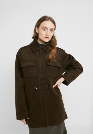 DESK JACKET - Short coat - army