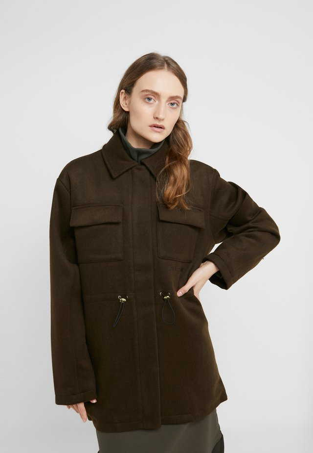 DESK JACKET - Manteau court - army
