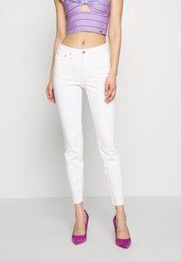 TOM TAILOR DENIM - NELA - Jeans Skinny Fit - white denim - 0