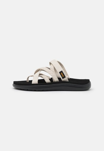 VOYA ZILLESA - T-bar sandals - mahani white swan