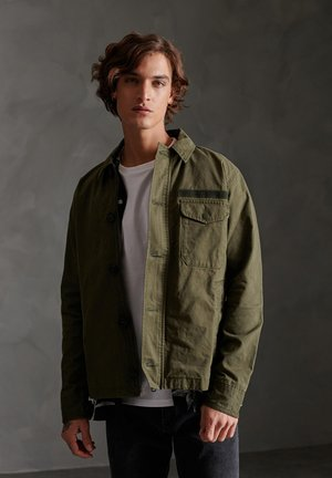 SUPERDRY FIELD DECK JACKET - Korte jassen - khaki