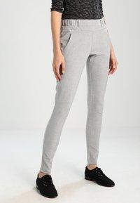 Kaffe - JILLIAN SOFIE  - Trousers - light grey melange - 0