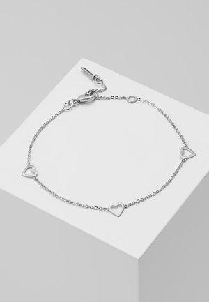 Náramek - silver-coloured