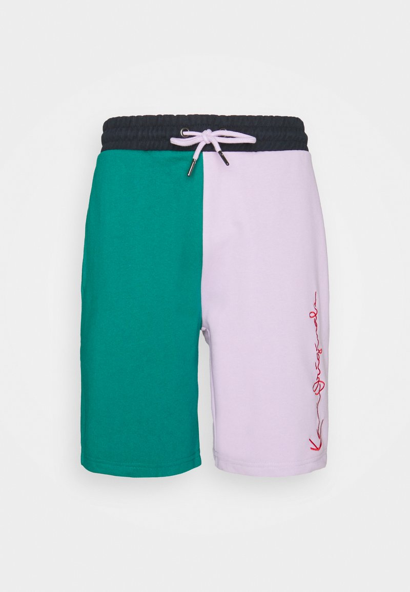 Karl Kani - ORIGINALS BLOCK UNISEX - Shorts - lilac