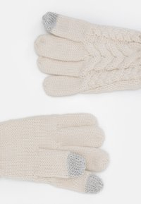 GAP - CABLE UNISEX - Rukavice - soft ivory - 1
