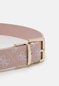 Guess - TYREN PANT BELT - Belt - blush - 2