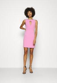 Guess - PATTI DRESS - Shift dress - rich pink - 1