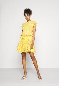 Lace & Beads - RORI DRESS - Day dress - yellow - 1