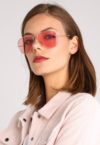 Ray-Ban - AVIATOR LARGE METAL - Sunglasses - silver-coloured - 3