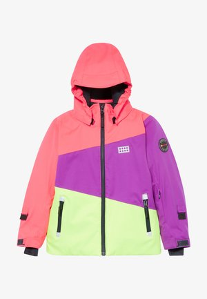 LWJODIE 701  - Snowboard jacket - coral red