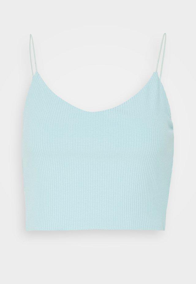 MITZI SINGLET - Top - dusty blue