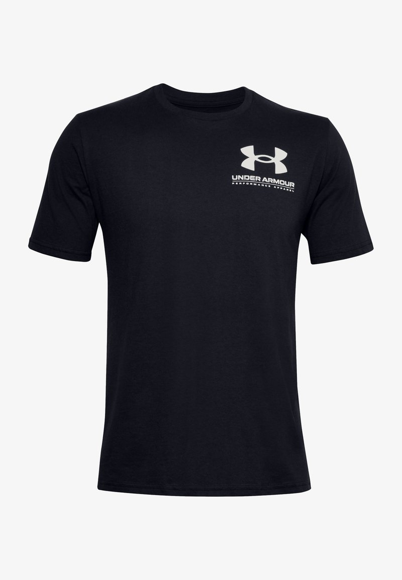Under Armour - PERFORMANCE BIG LOGO - Sports shirt - black