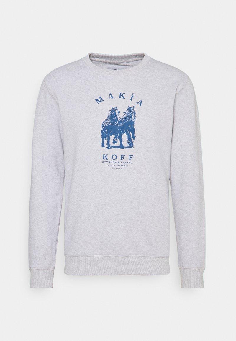 Makia - STYRKKA  - Sweatshirt - light grey