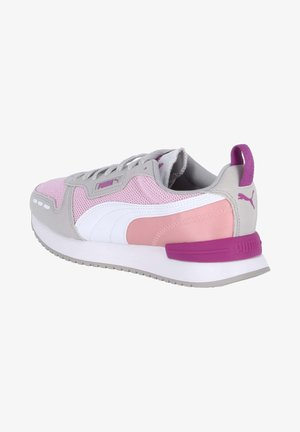 Trainers - pink / grau