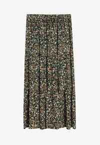 Violeta by Mango - SUMMER - A-line skirt - grün - 4