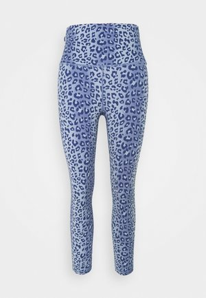 ECLIPSE SKY HIGH ZIPPER POCKET LEGGING - Leggings - blue/dark blue