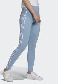 adidas Originals - Leggings - Trousers - blue - 2