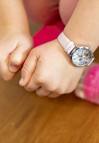 Cool Time - Watch - rosa-silber - 0