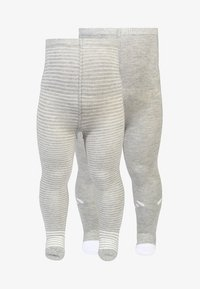 Jacky Baby - BABY 2 PACK  - Tights - graumelange - 0